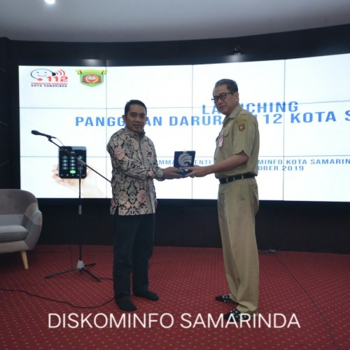 Samarinda Launching Call Center 112